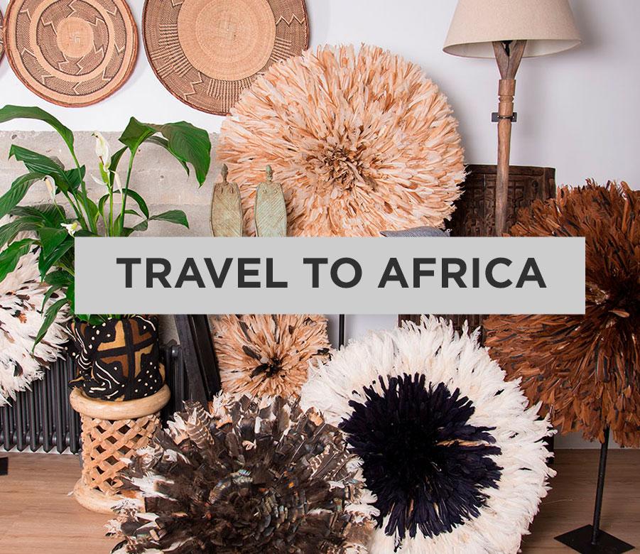 Mobiliario Y Accesorios Con Estilo Africano Mobiliario único Hecho